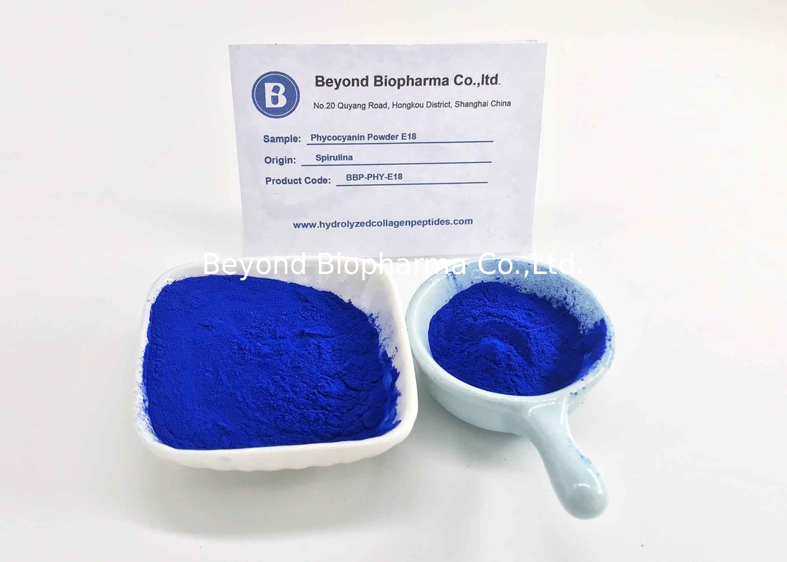 CAS. No.11016-15-2 Phycocyanin Powder From Spirulina As Natural Food Coloring